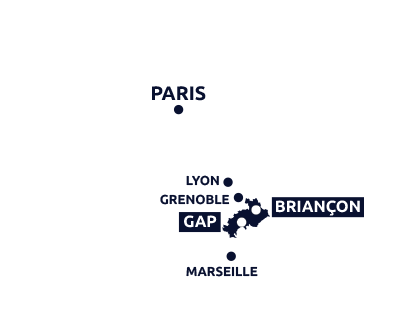 Localisation Briançon