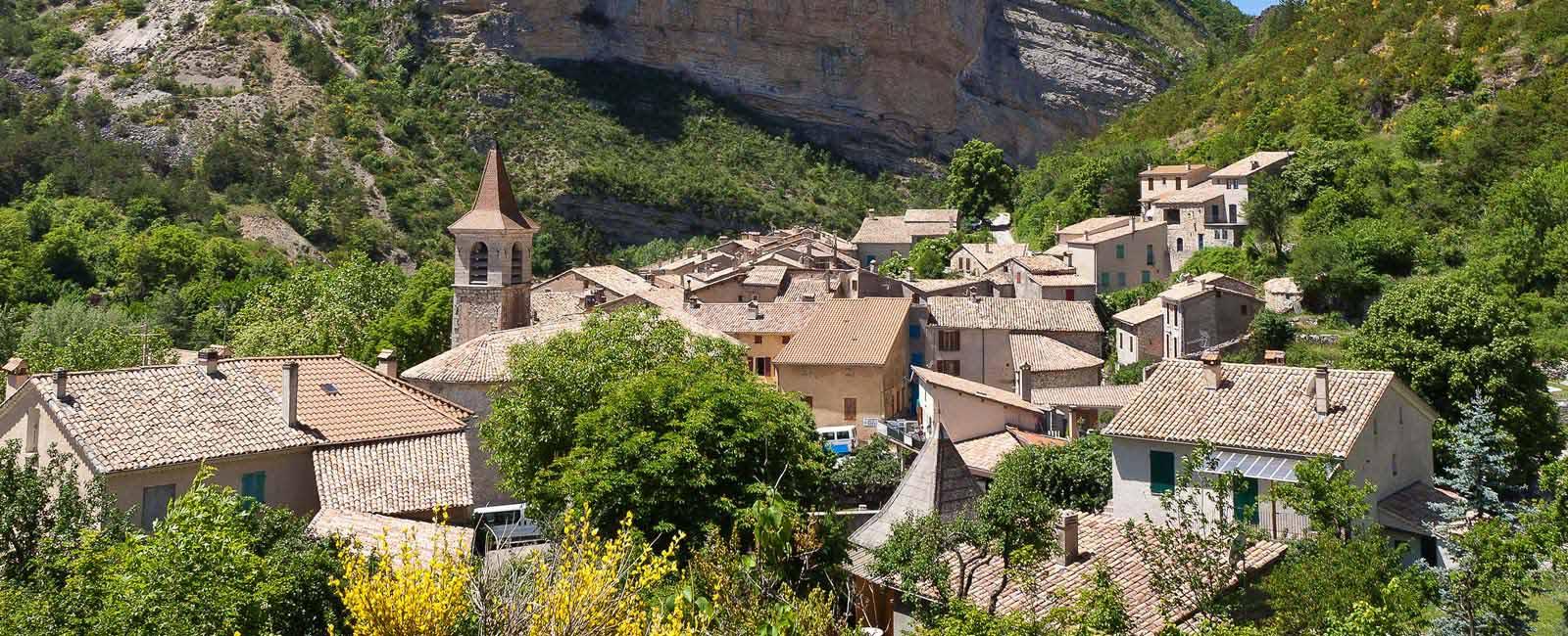 Village perché du Buëch