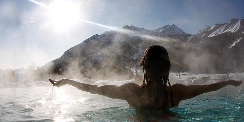 Grands Bains du Monêtier eau de source naturelle