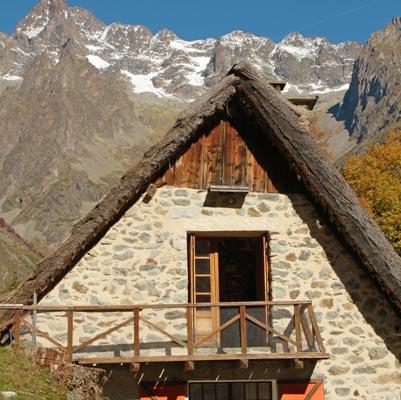 Architecture saint-Véran chalets de montagne