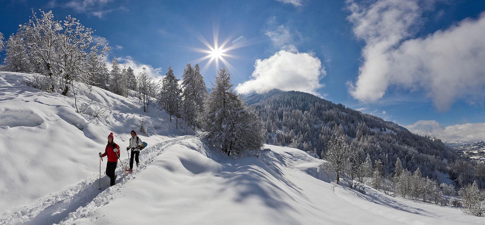 Randonnée ski et raquettes dans les Hautes-Alpes