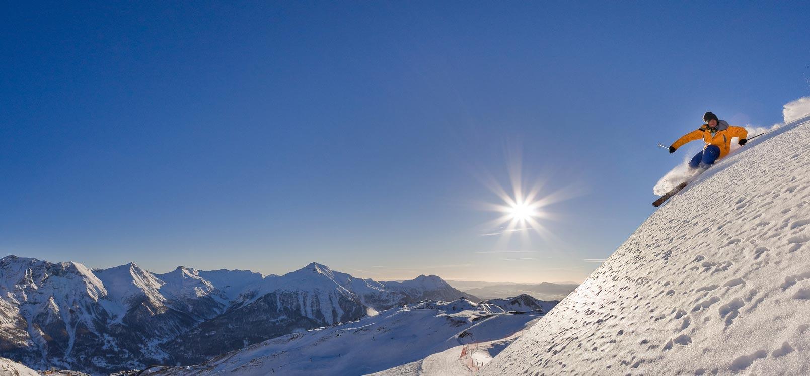 Ski dans les Hautes-Alpes