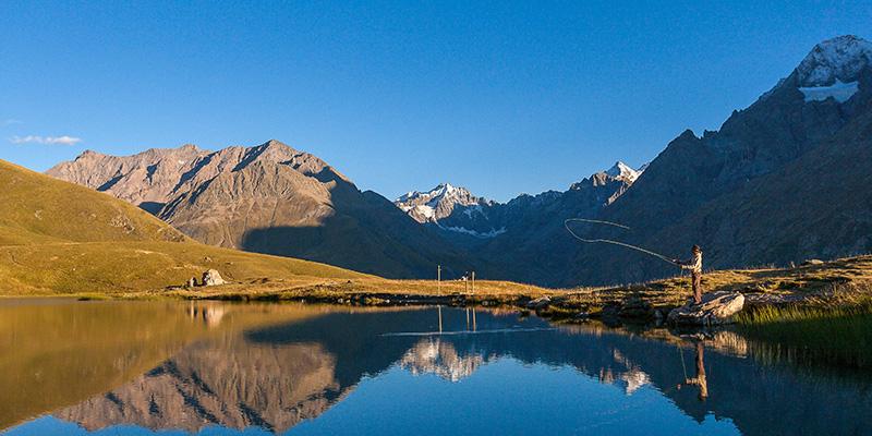 Pêche dans les Hautes-Alpes Lacs d'altitude