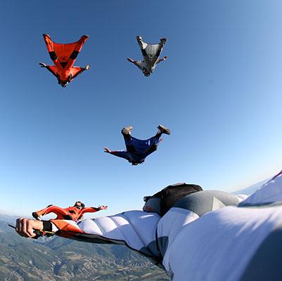 Parachutisme chute libre Tallard