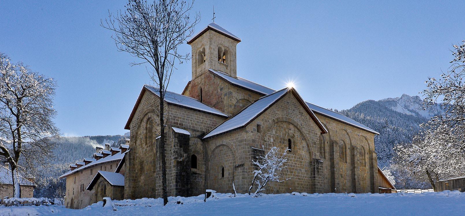 Abbaye de Boscodon - Embrunais - Serre-Ponçon