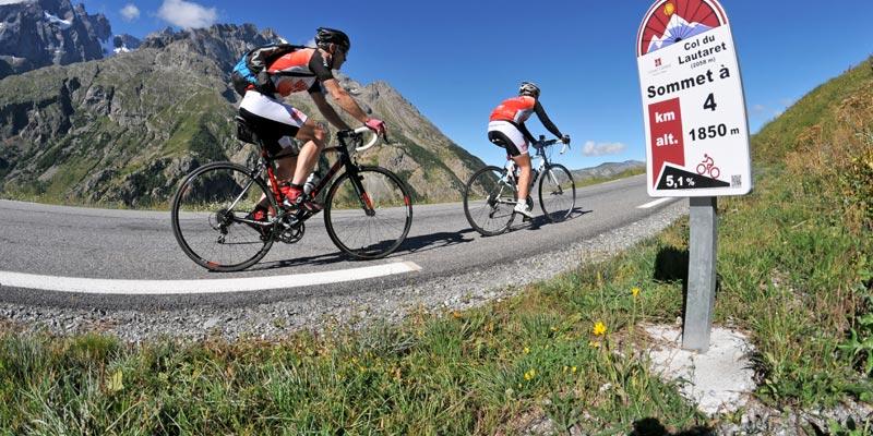 Cyclotourisme- grands cols - galibier - lautaret