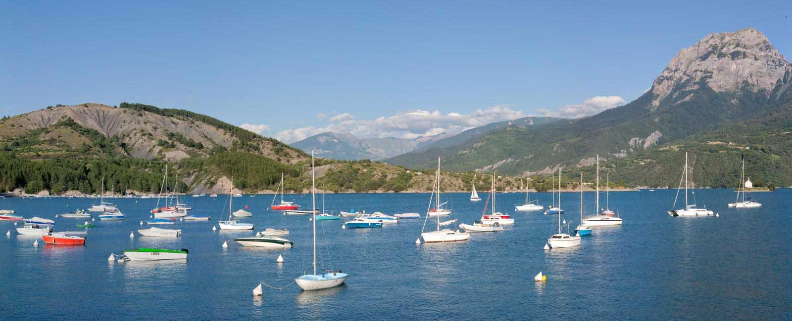 Lac de serre pon on durance hautes alpes - Office du tourisme de gap ...