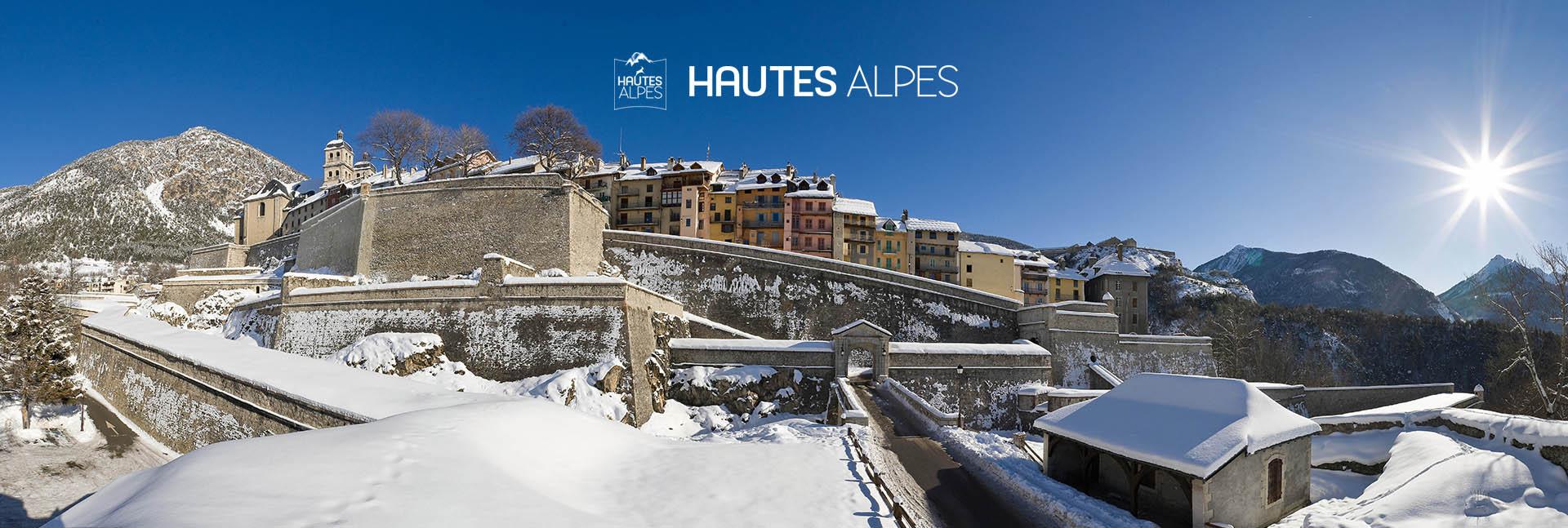 Serre-Chevalier Briançon Ski station hiver neige