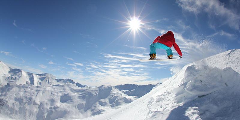 Snowboard aux Orres