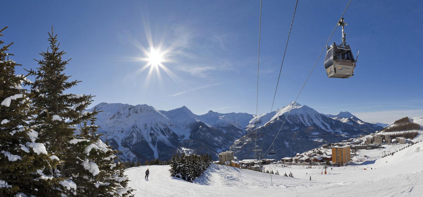 Orcières Merlette Champsaur Hautes-Alpes