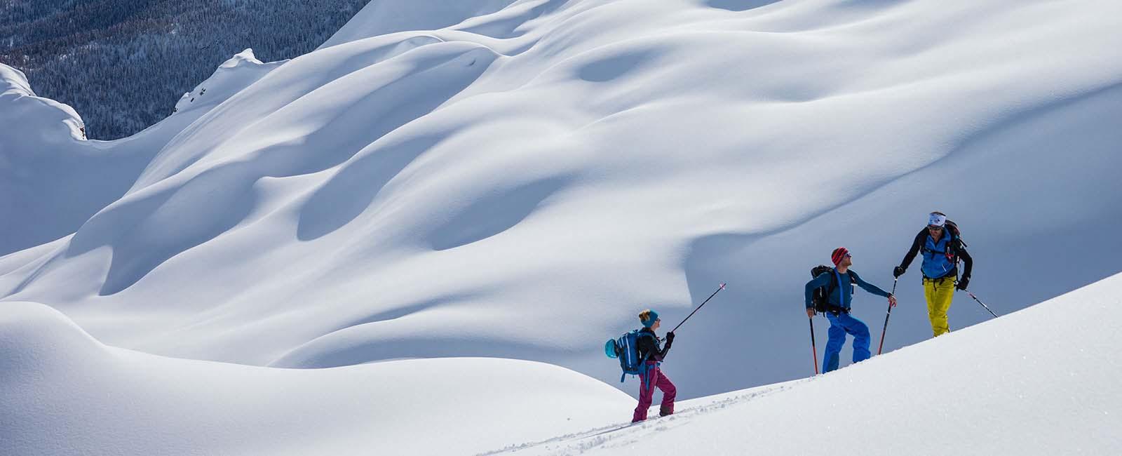 Ski de randonnée Puy Saint Vincent
