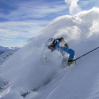Ski poudreuse à Puy Saint Vincent