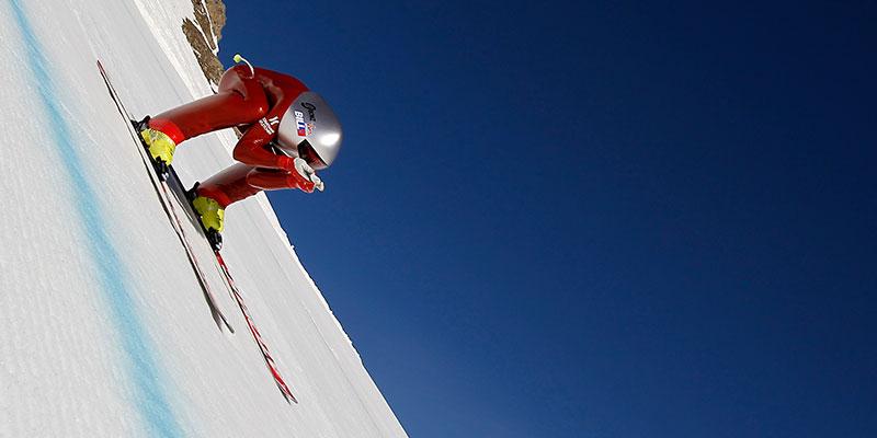 ski KL à Vars Kilomètre lancé