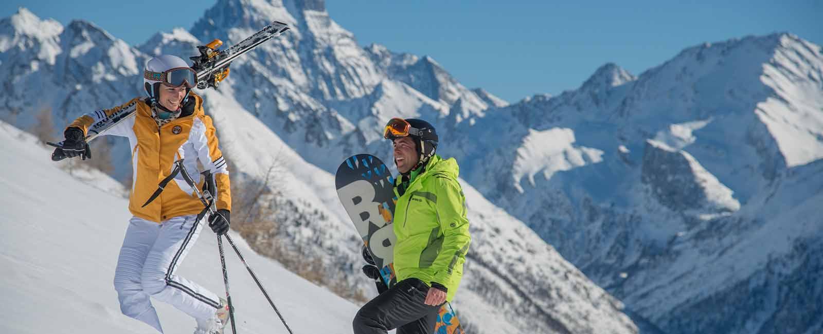 Ski dans le Queyras Hautes-Alpes