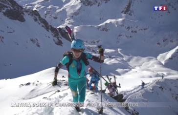 Laétitia Roux, la championne aux 100 médailles d'or