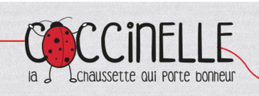"""""""Coccinelle, la chaussette qui porte bonheur"""""""