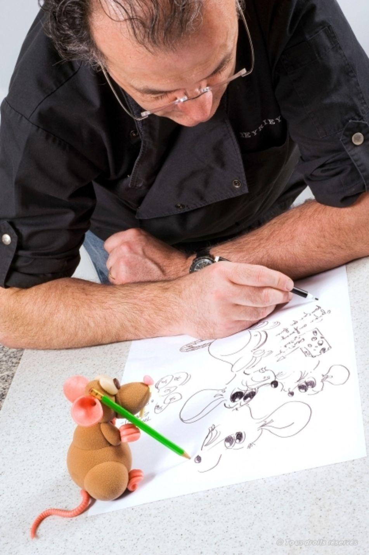 Luc Eyriey, artiste chocolatier