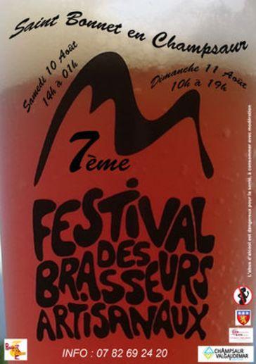 7ème festival des brasseurs à Saint-Bonnet-en-Champsaur