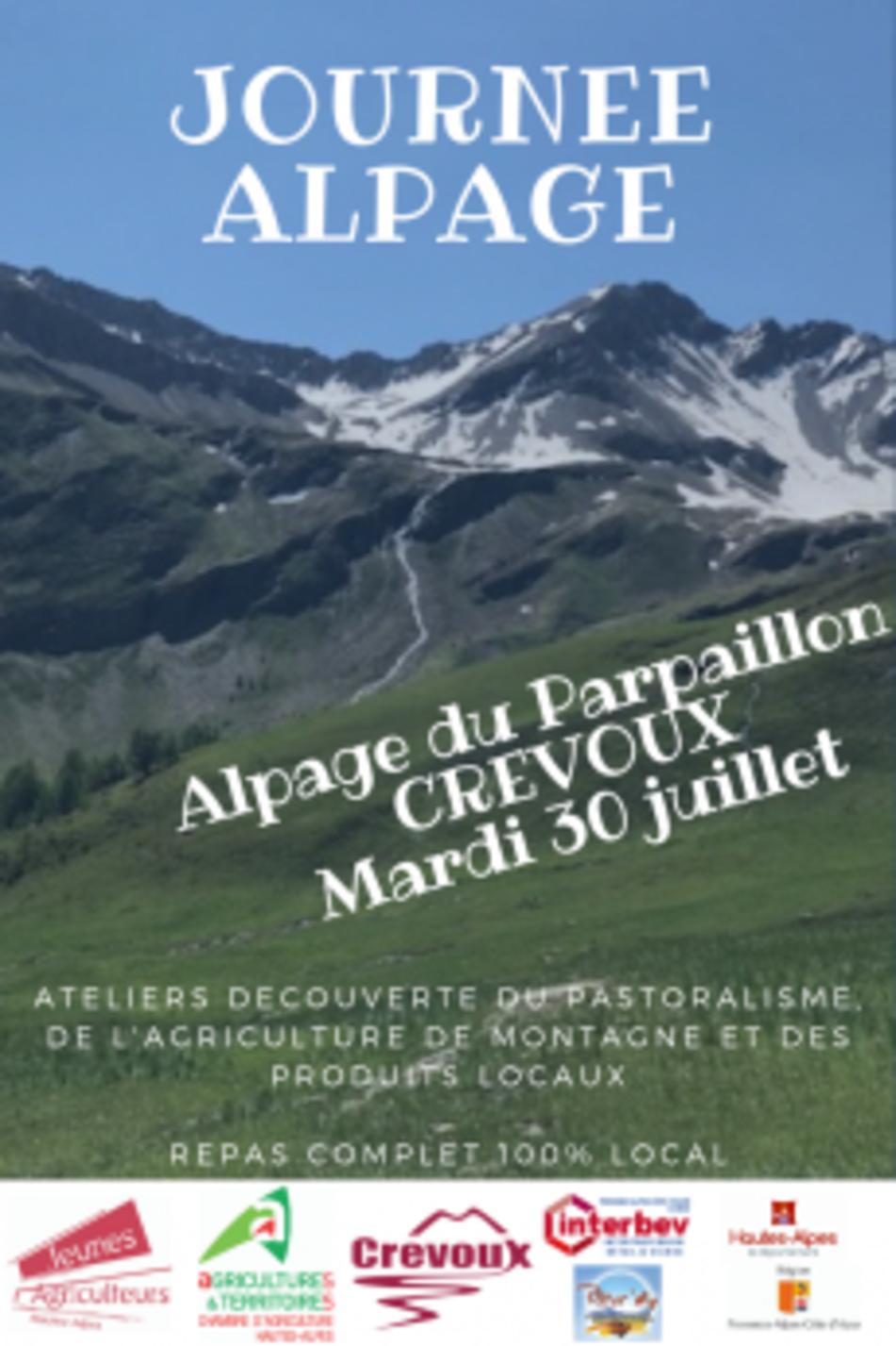 Une invitation à découvrir l'alpage bovin à Crévoux