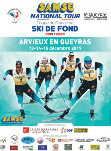 Coupe de France de ski de fond à Arvieux en Queyras